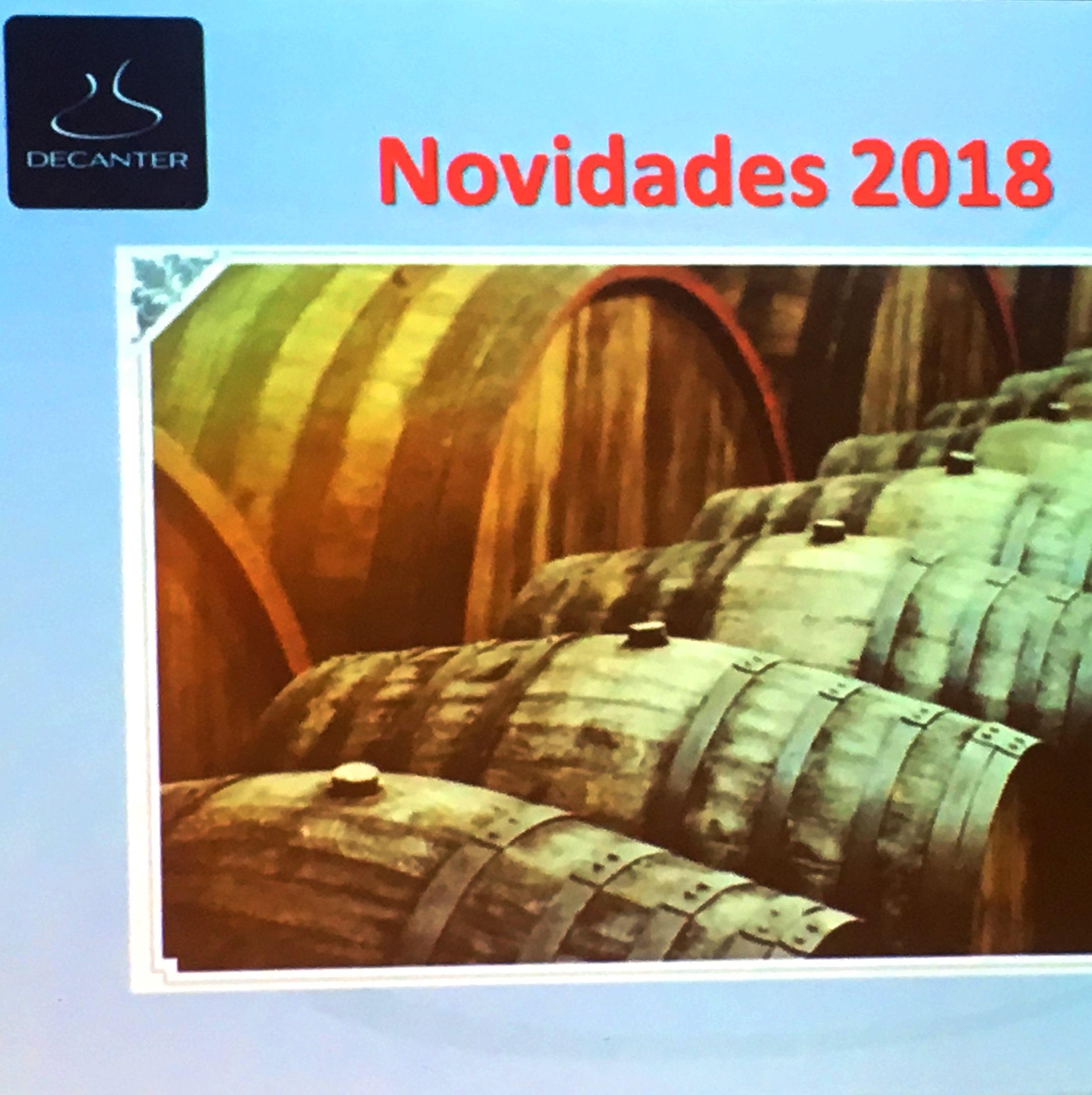 Nova leva de vinhos da importadora Decanter